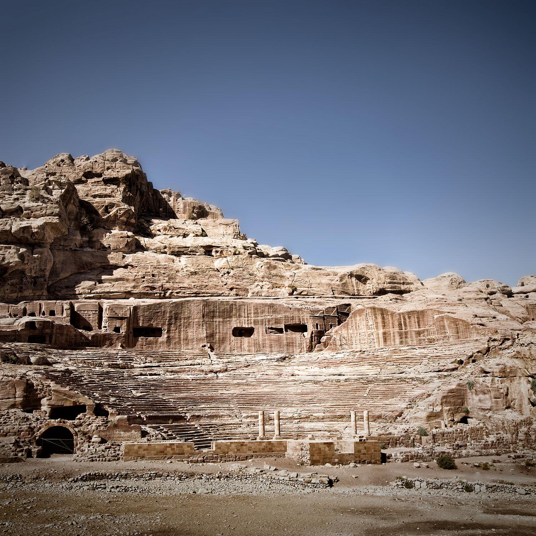 The Theatre, Petra, Jordan, 2015 - Seating Capacity 4,000