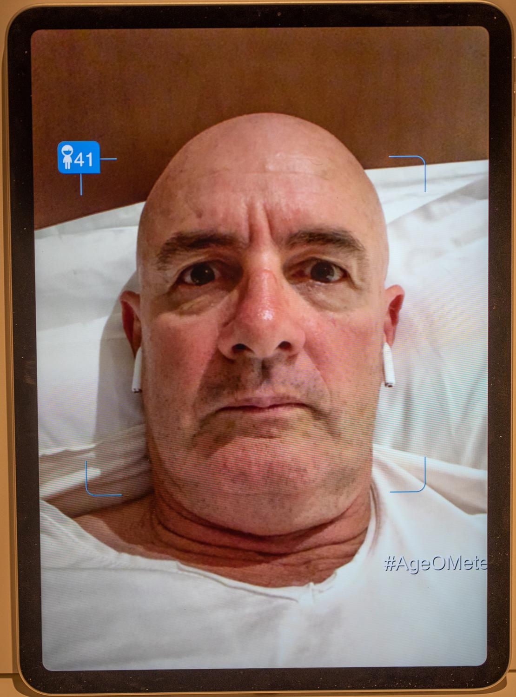 Age app 41, actual 59