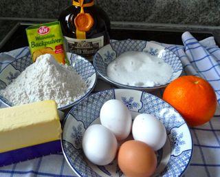 Saftige Orangenmuffins