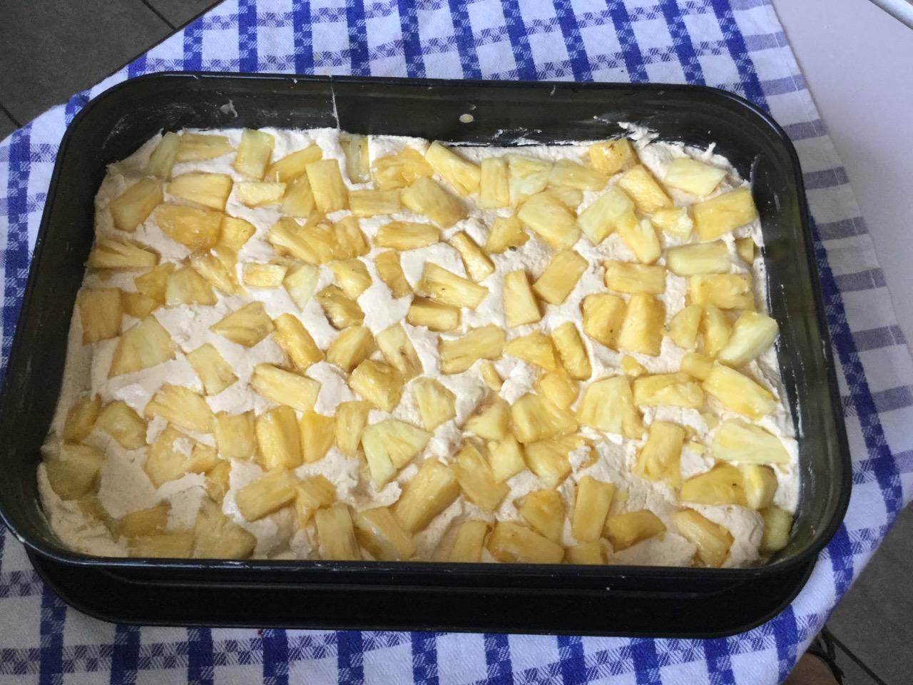 Ananas Blechkuchen mit Kokoskruste - 3.jpg