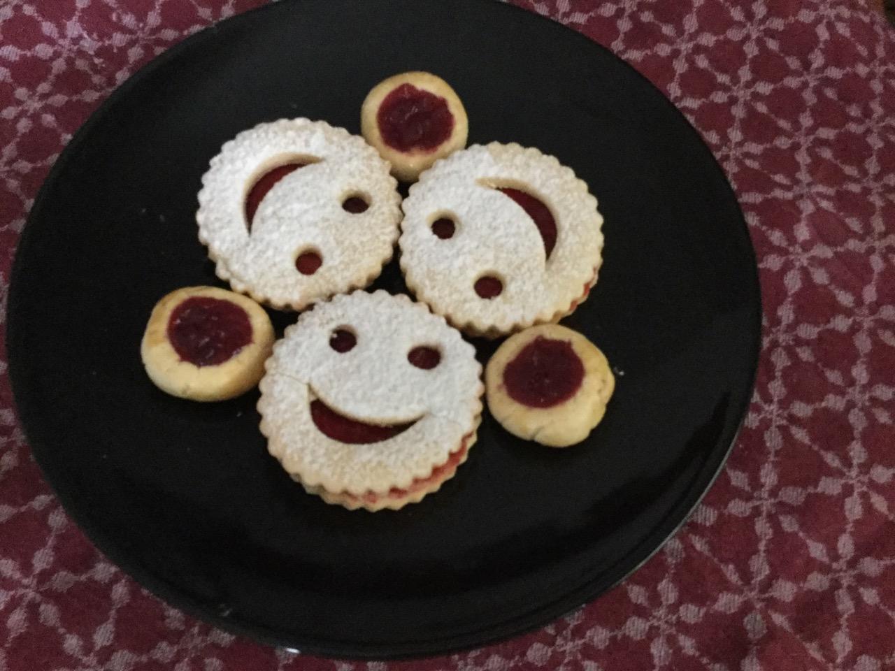 Lachende Gesichter