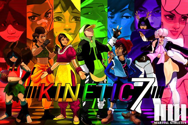 Meet the Kinetic 7   |  A Martial RheeMix
