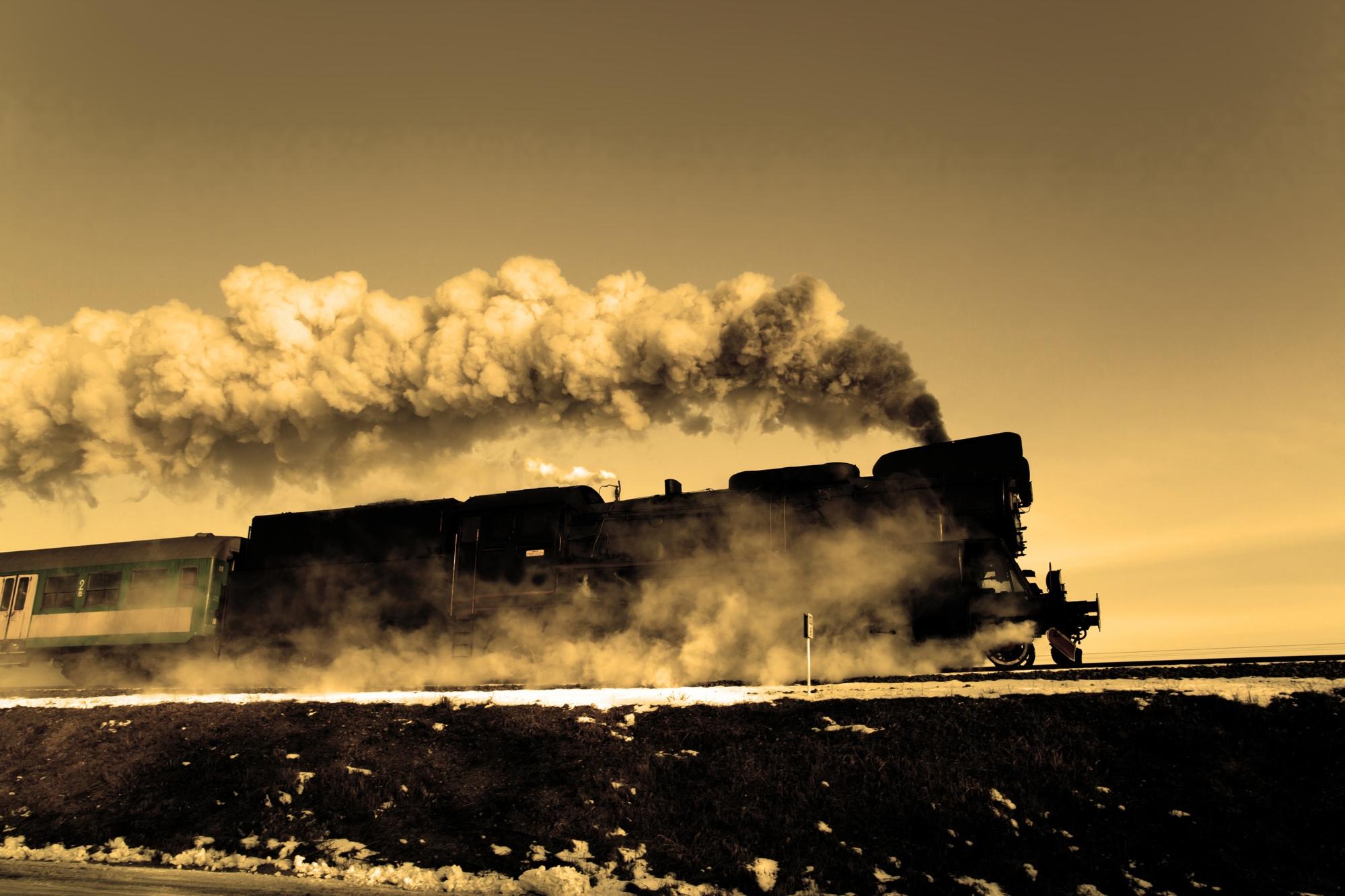 Old retro steam train   © remik44992 - Fotolia.com