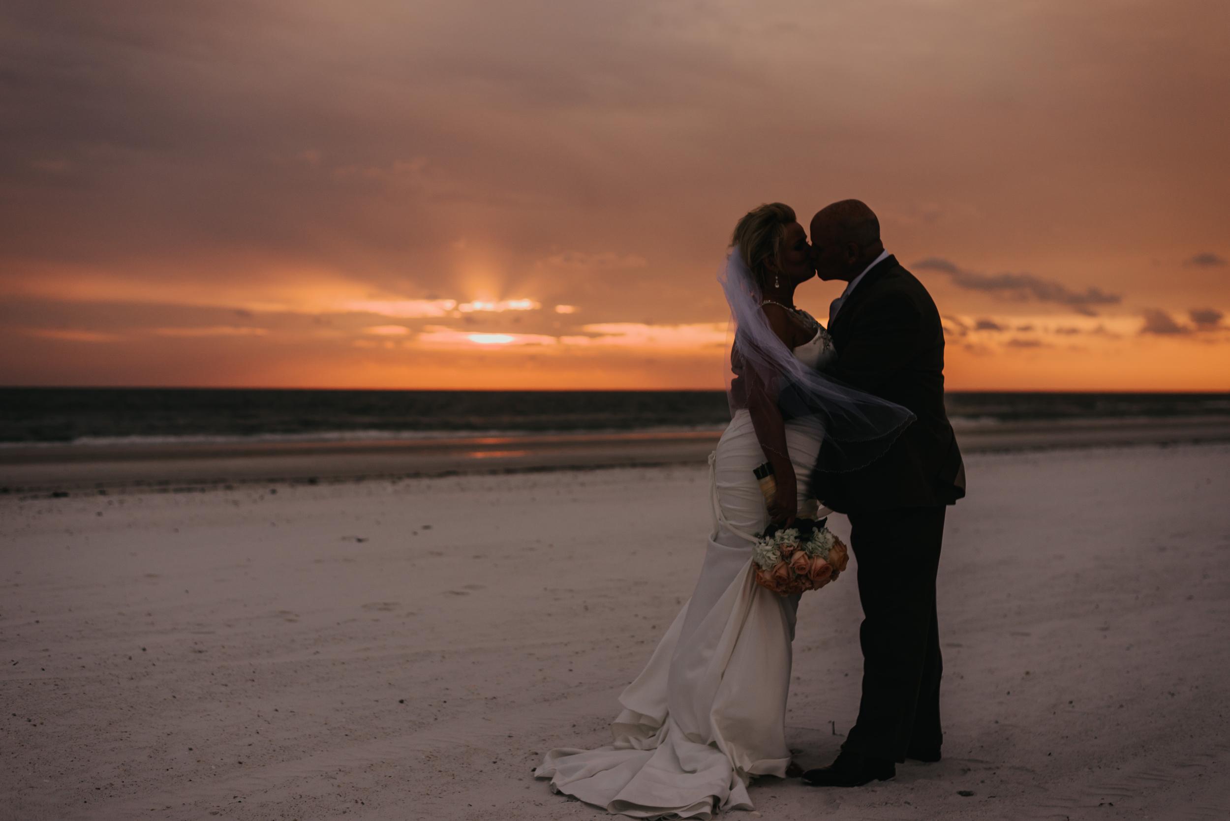 Marco Island Marriott Beach Resort Wedding Sunset