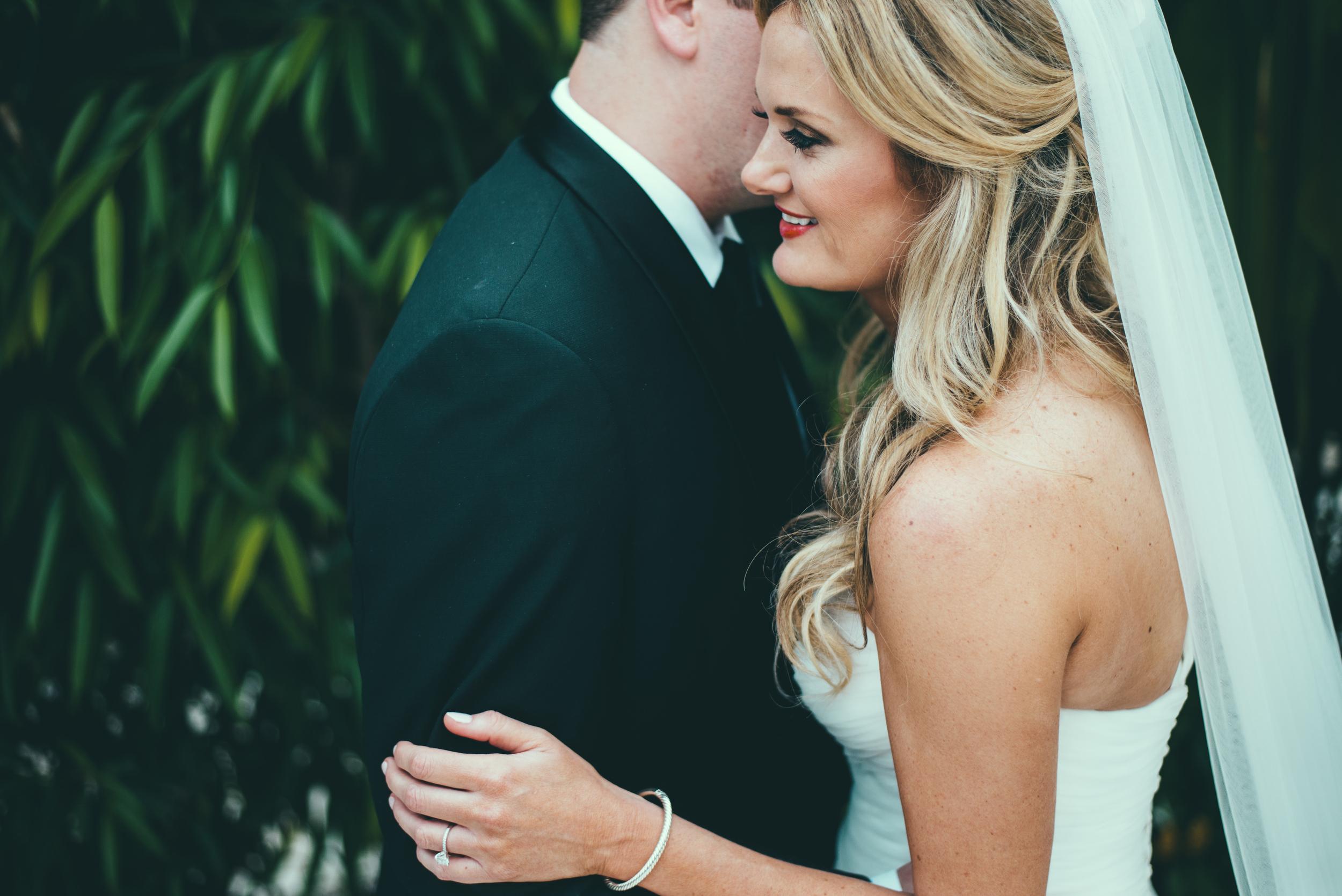 The Palms Hotel & Spa Wedding Miami Florida Photographer Groom Talking to Bride