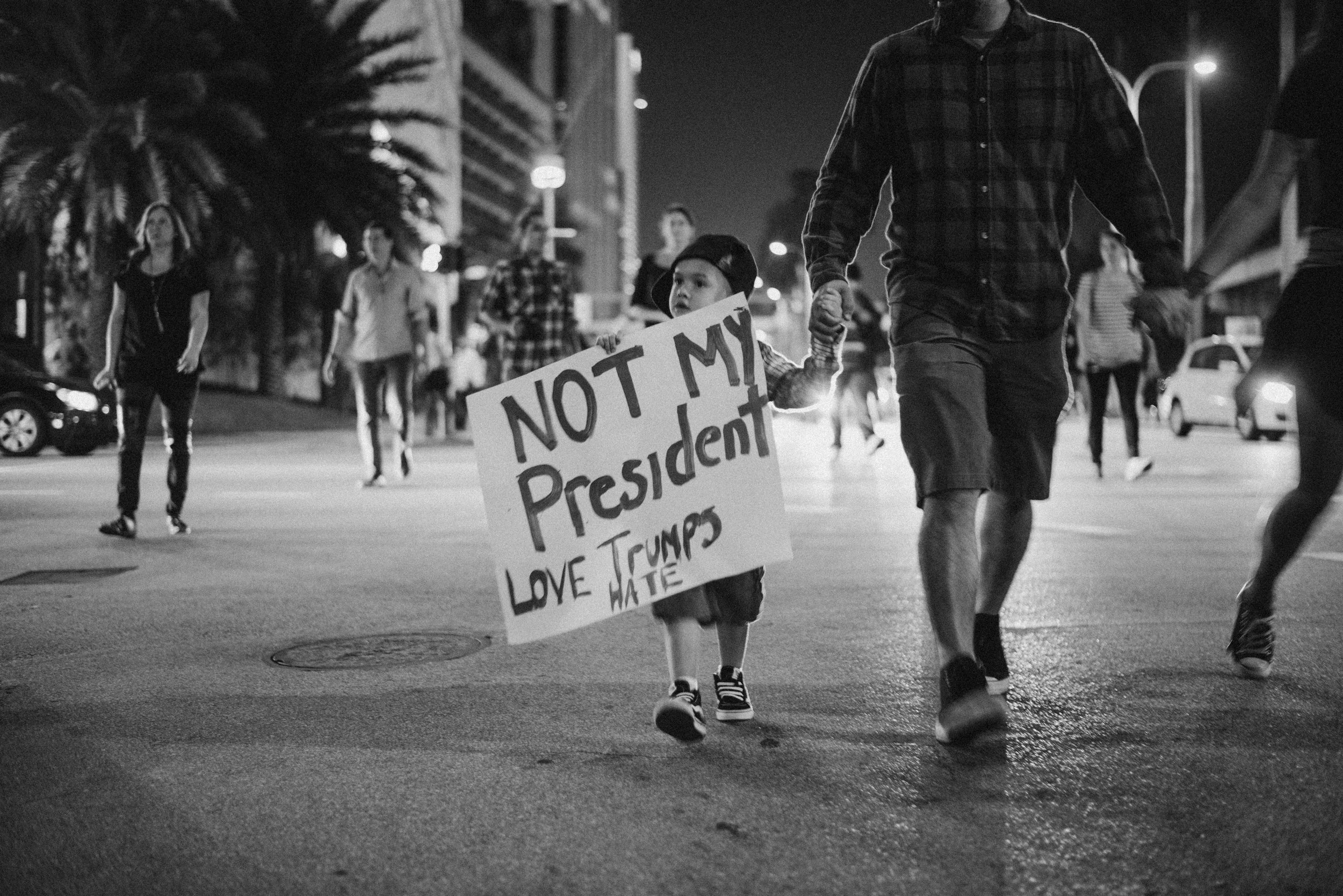 I went out to document history in Miami when Donald Trump got elected. It was wild and I have never felt more alive than that day
