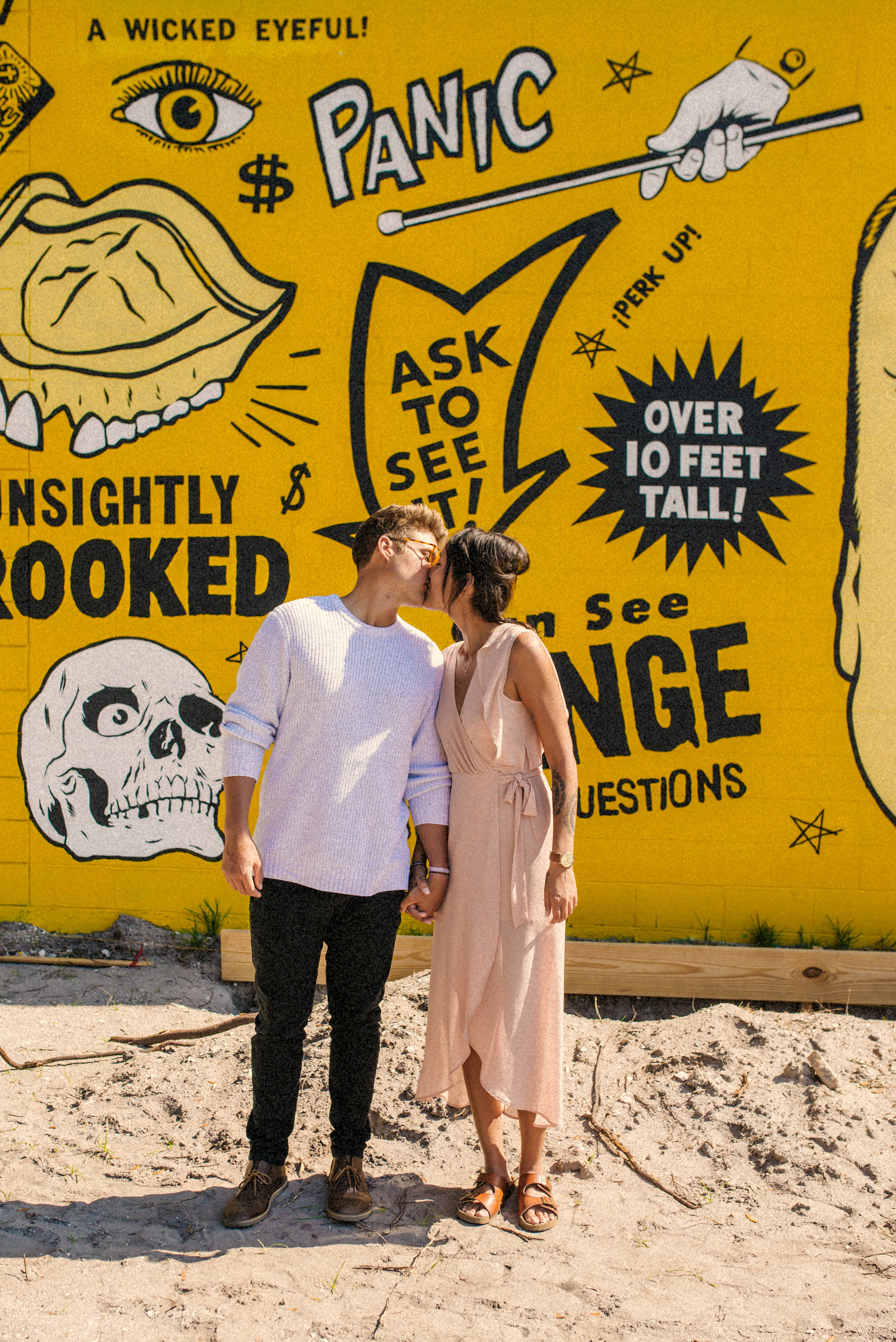 Bran + Hills couple portraits in St Pete Florida - Naples Florida Wedding Photographer - Tampa Wedding Photographer
