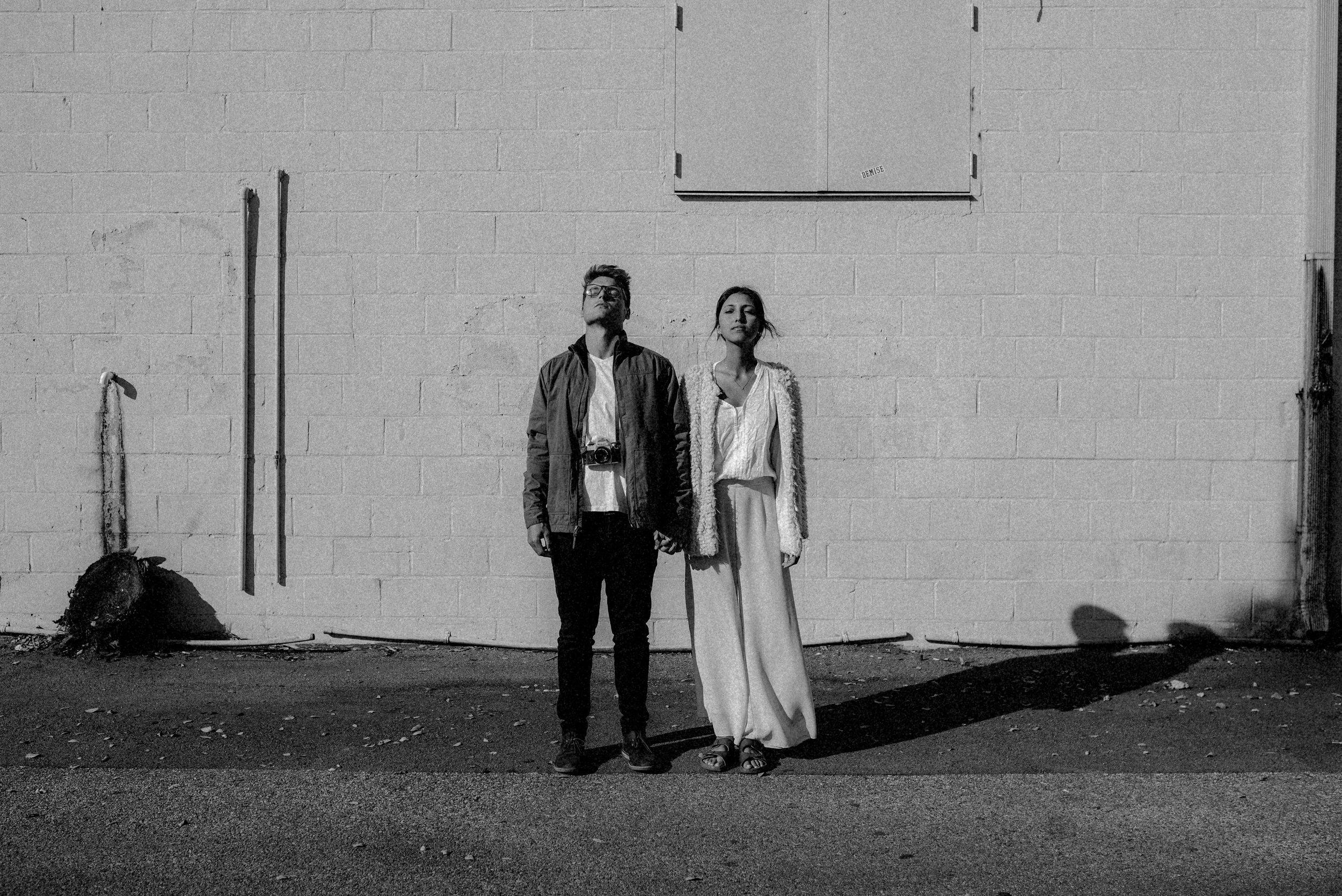 Hillary and Brandon in Ybor Tampa Florida - couple portraits - st pete florida - naples florida wedding photographer - tampa wedding photographer