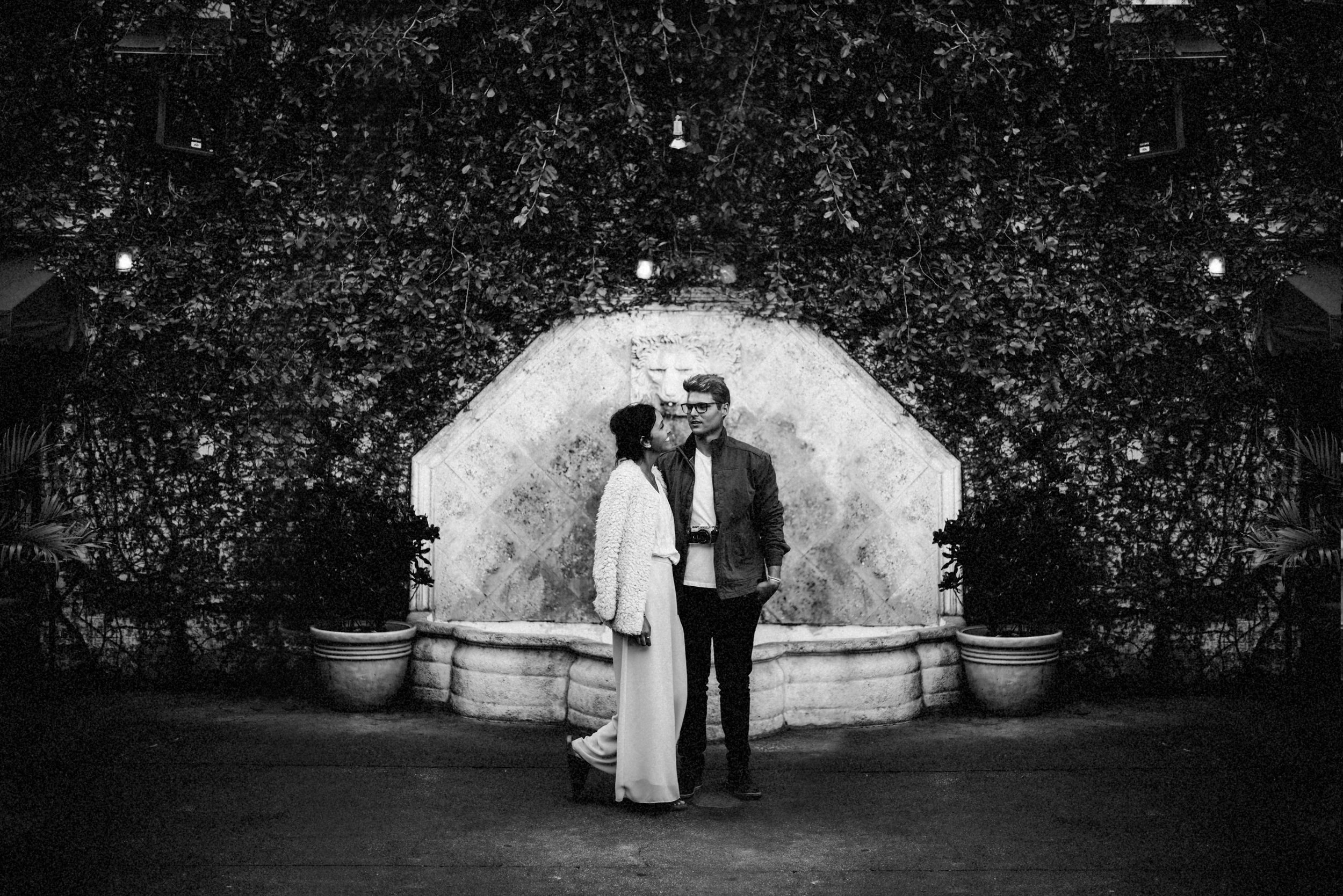 Brandon & Hillary in Ybor Tampa Florida - couple portraits - st pete florida - naples florida wedding photographer - tampa wedding photographer