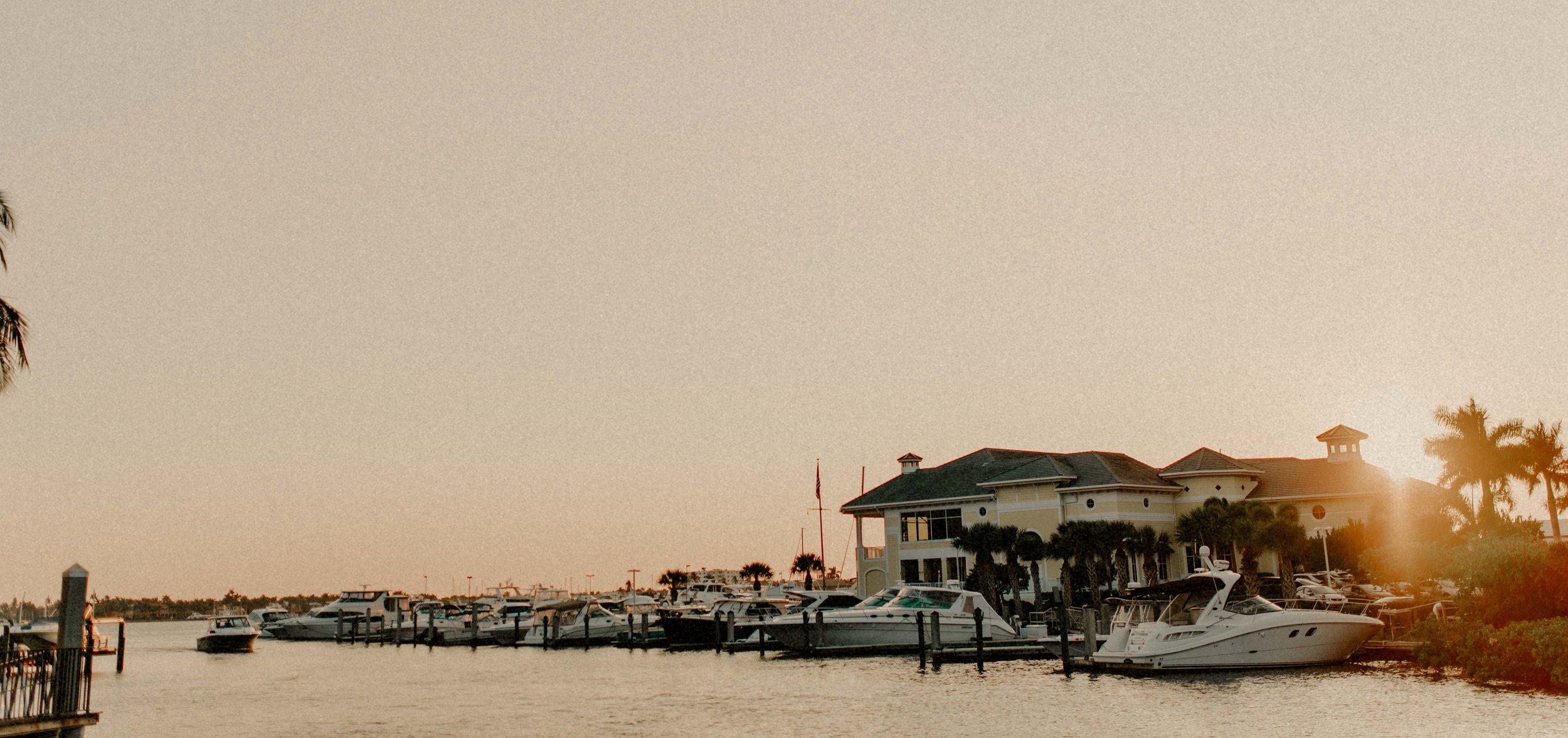 Naples Bay Resort Hotel & Spa Sunset view