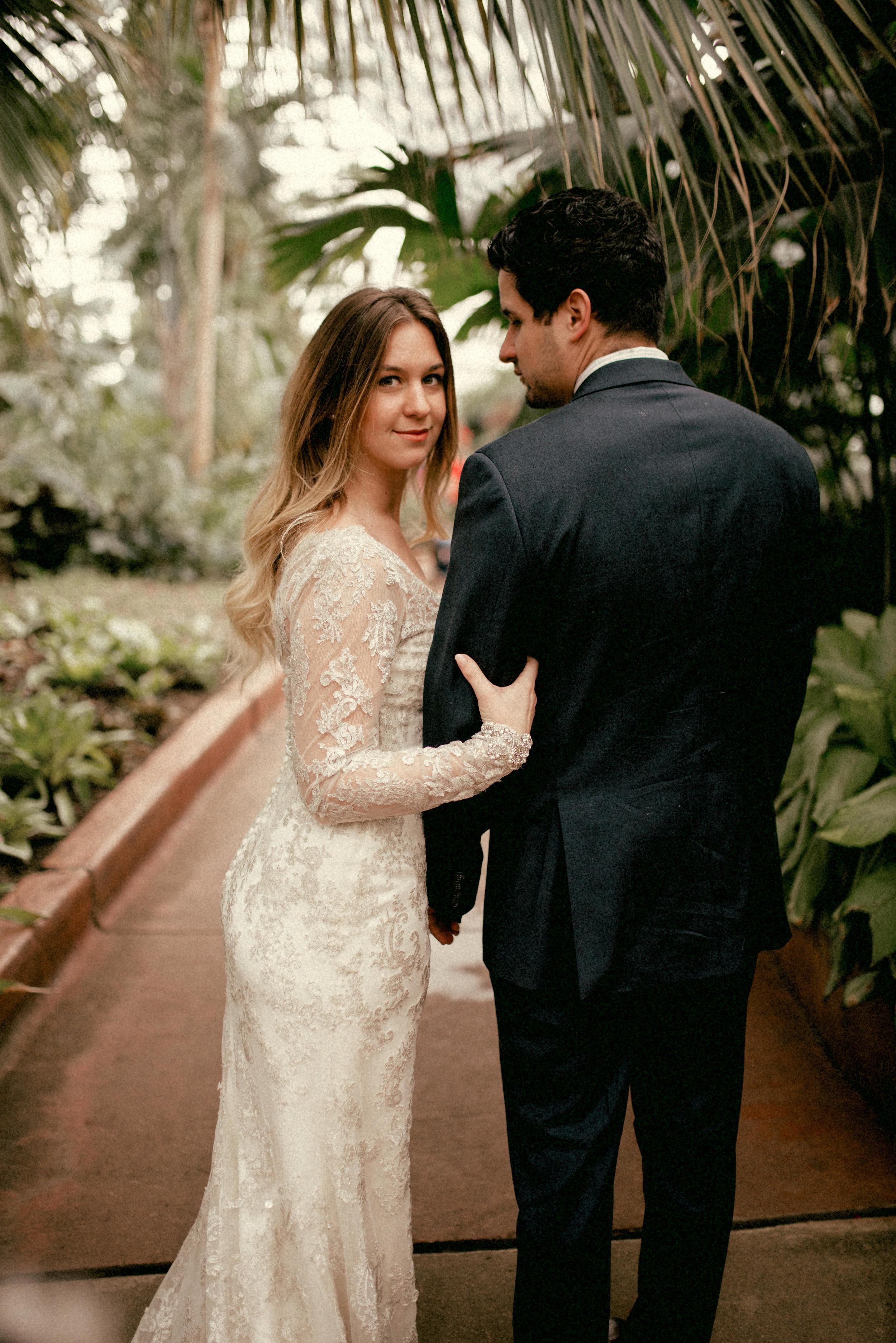 garfield park conservatory chicago wedding 10