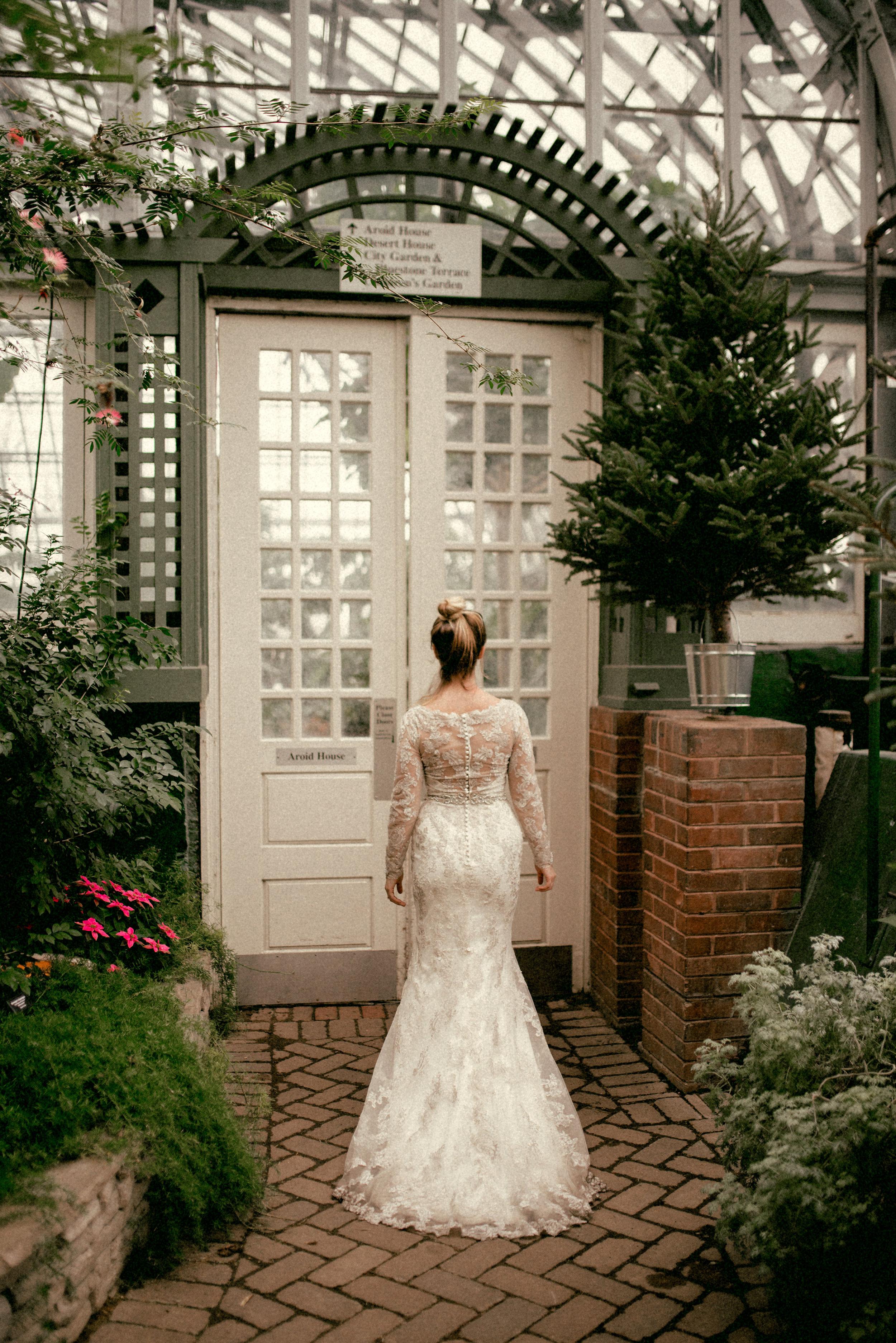 garfield park conservatory chicago wedding 34