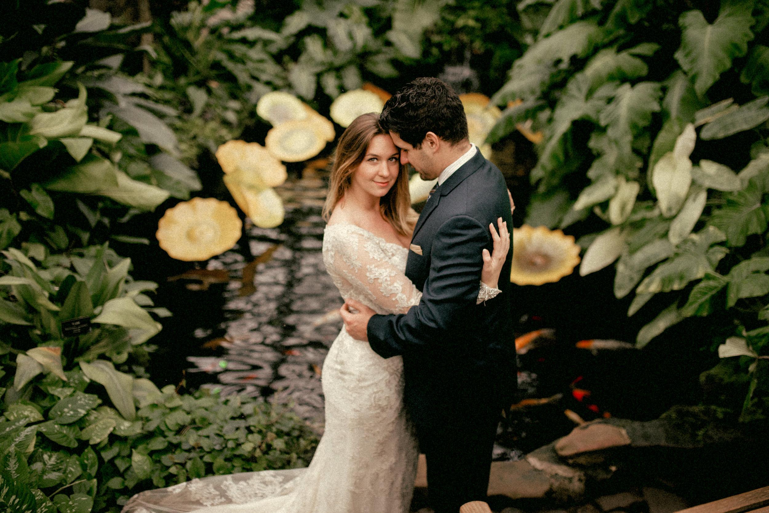 garfield park conservatory chicago wedding 41