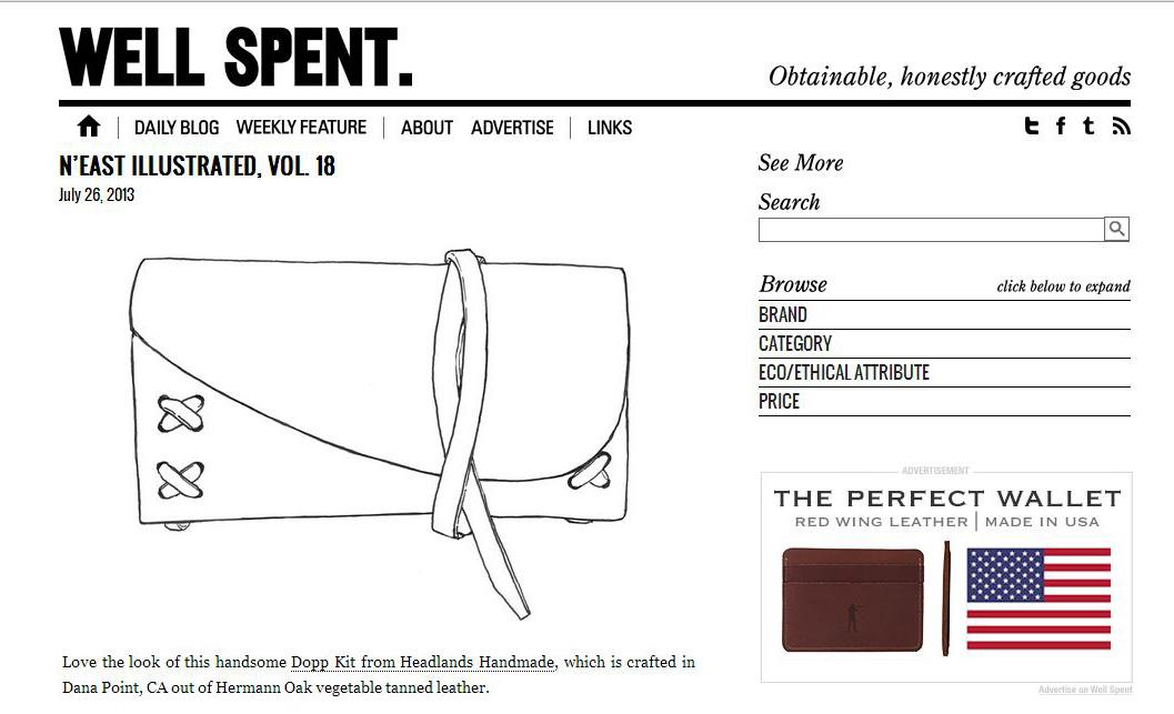 Christine Mitchell Illustration on Well Spent