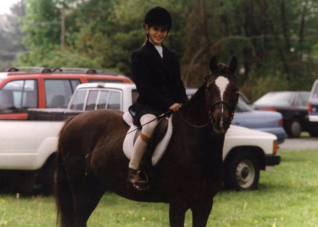 Dudley, pony extraordinaire,1996