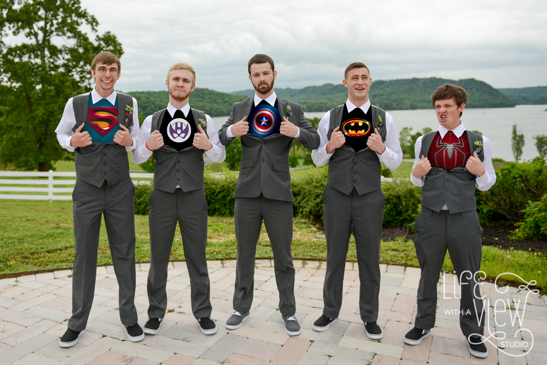 Superhero-Groomsmen