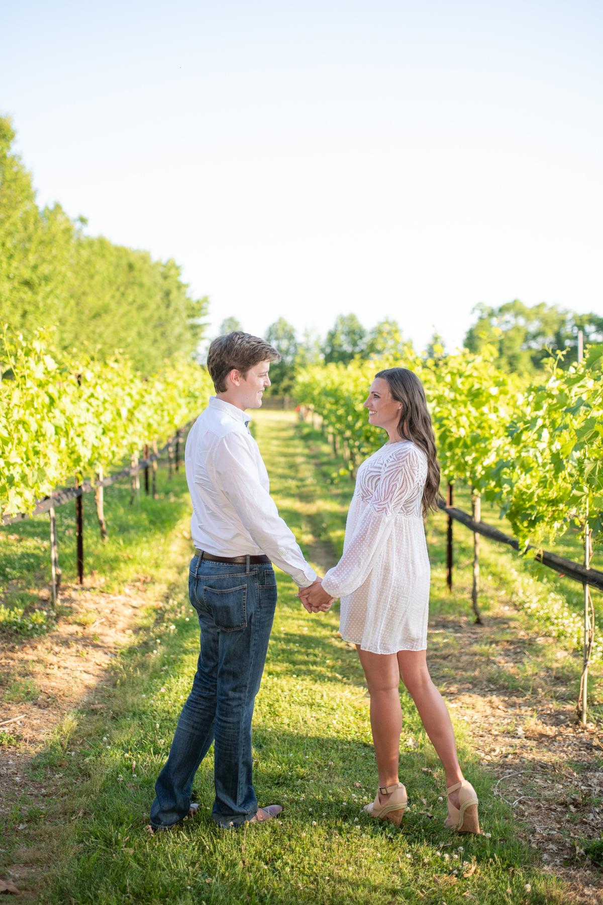 Arrington Vineyards Engagement Session