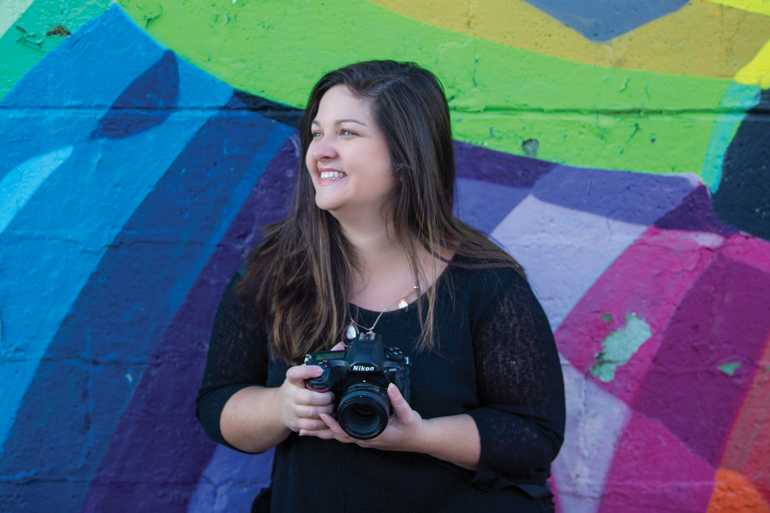 - Well Hello, I'm Brittany. I'm the camera, heart, and soul behind Life with a View Studio. My passion is to tell your story through photography by capturing those beautifully real. At home, I'm a wife to the love of my life, Dustin, and mother to our outgoing (wild) daughter, Renlee.
