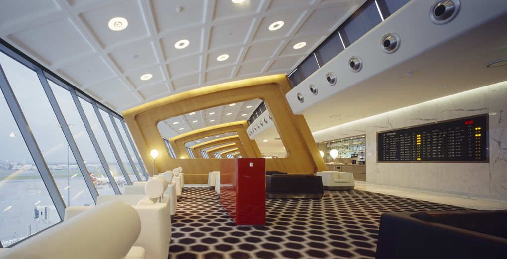 Qantas First Class Lounge, Sydney 2007 - Qantas Airways