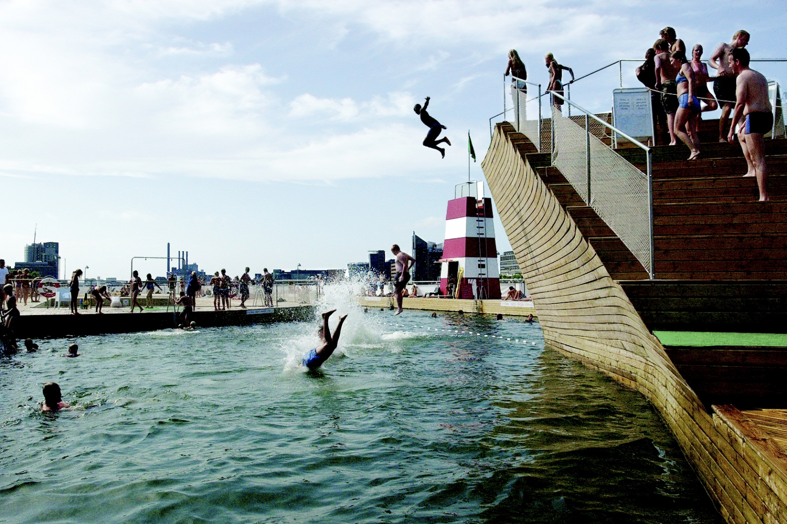 Copenhagen Harbour Bath at Islands Brygge, courtesy JDS architects