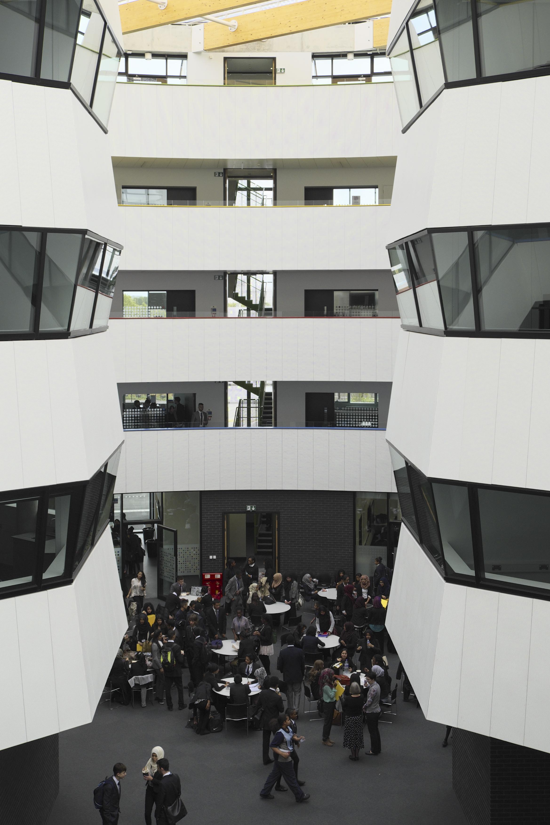 Chobham Academy / UK / Allford Hall Monaghan Morris