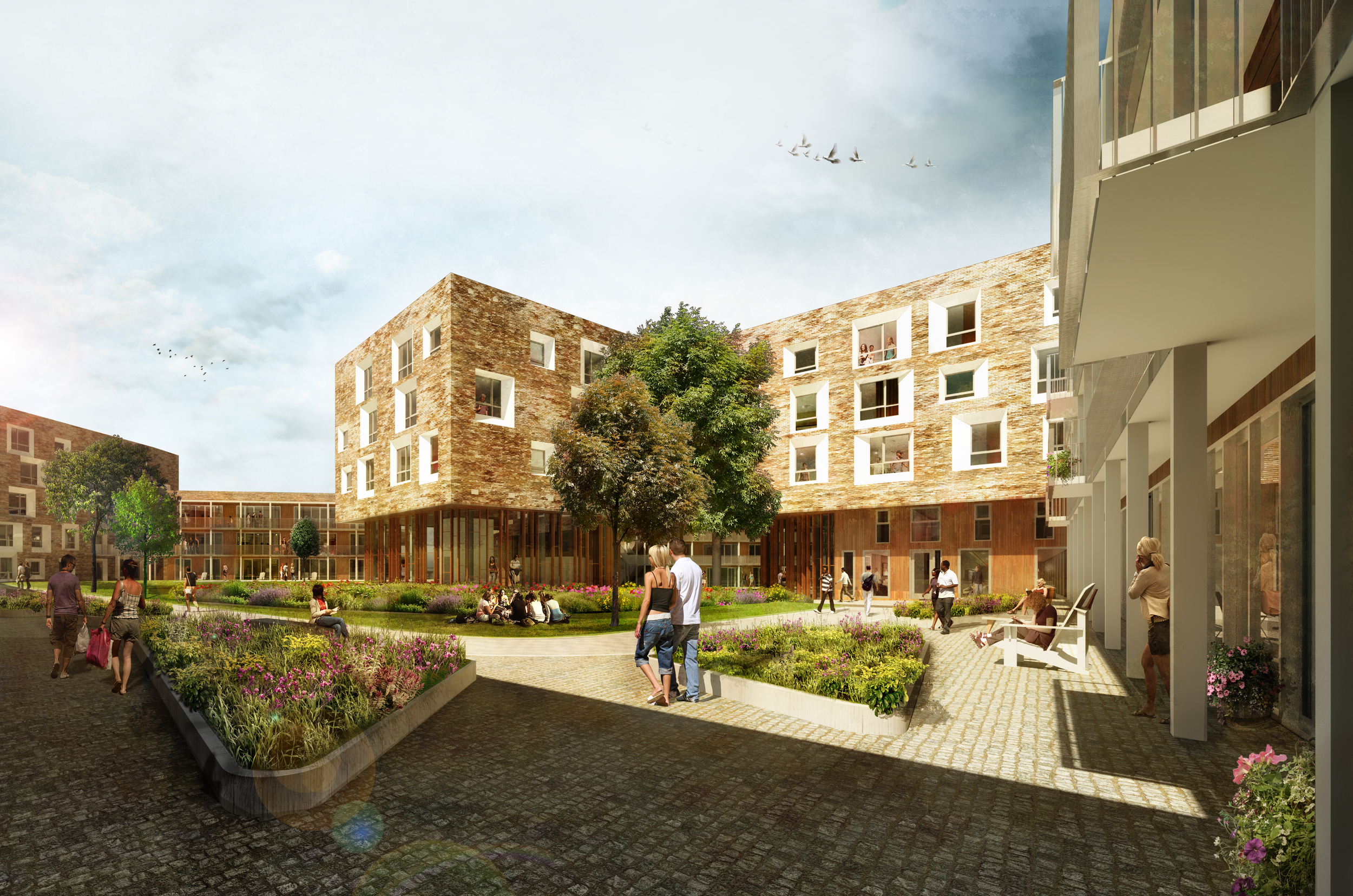North West Cambridge Masterplan / UK / AECOM Design & Planning
