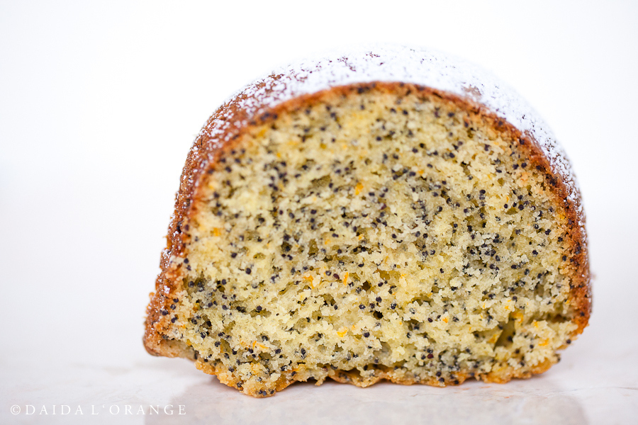 Orange Poppyseed Cake