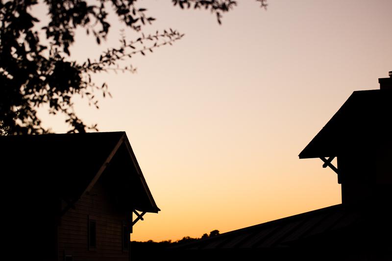 sunset october