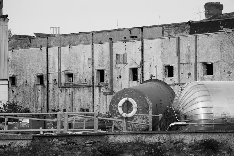 abandoned building cork