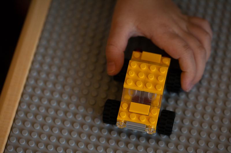 mamas yellow Lego car