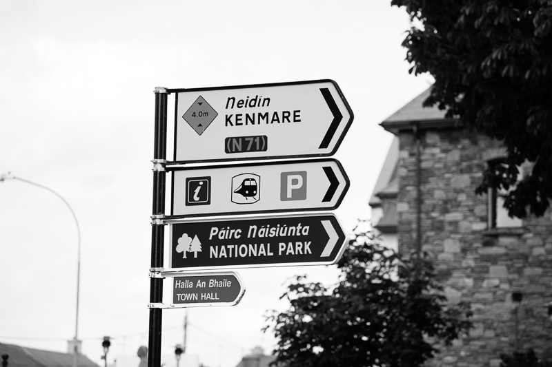 killarney sign post