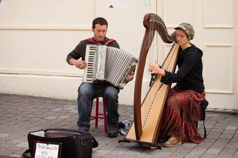 harp and accordian galway