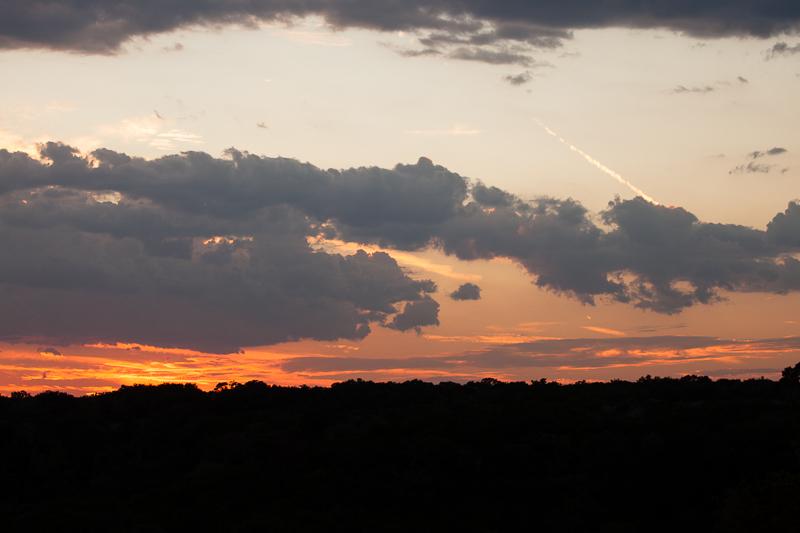 cloudy sunset 1012