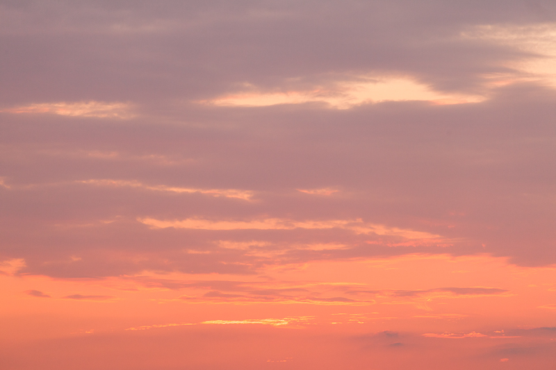 sunset sky 107