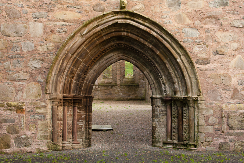 abbey doorway