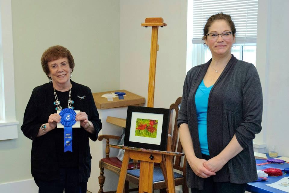 Bonnie wins an award at our Spring Members Show
