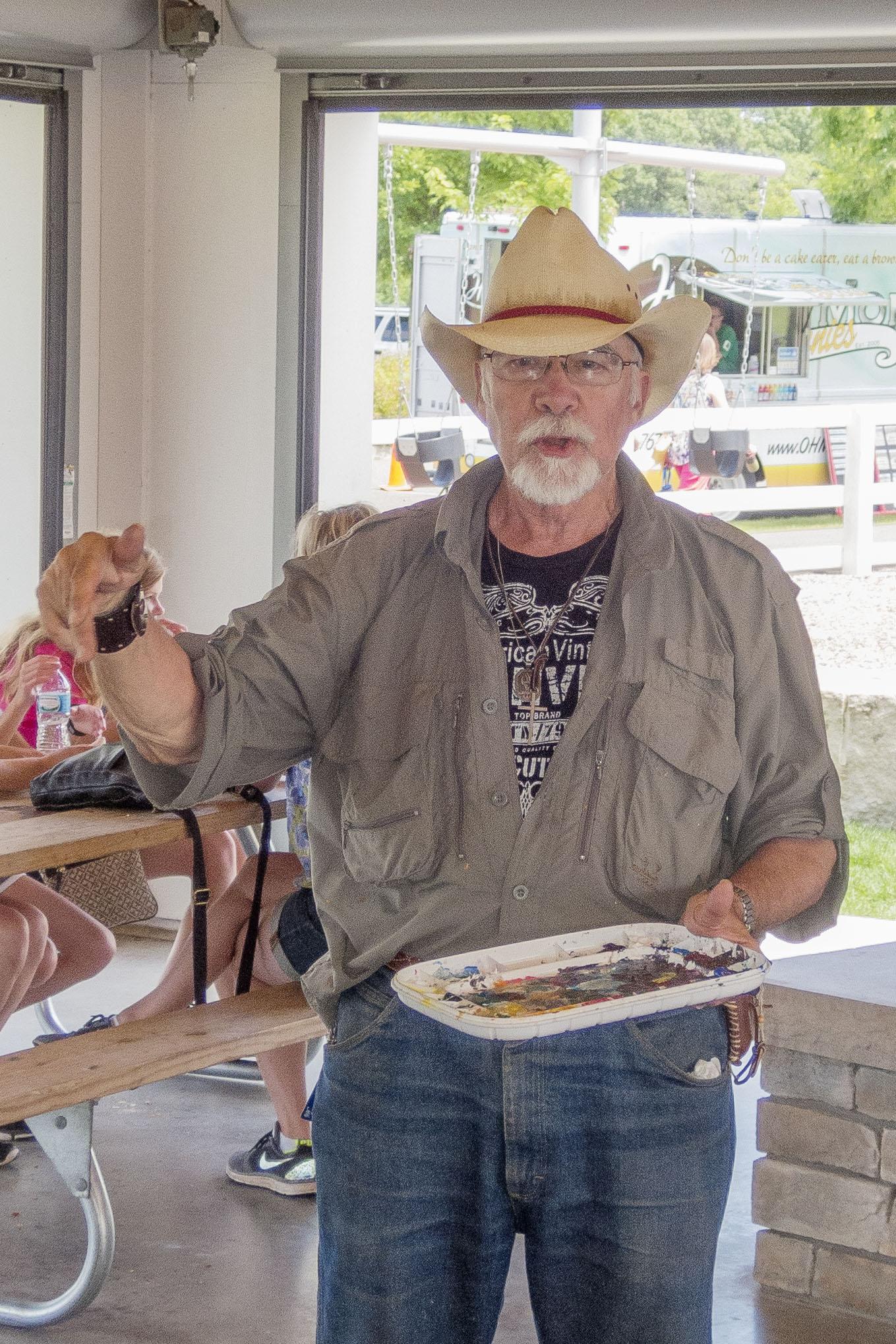 Paul T Boecher talks paint