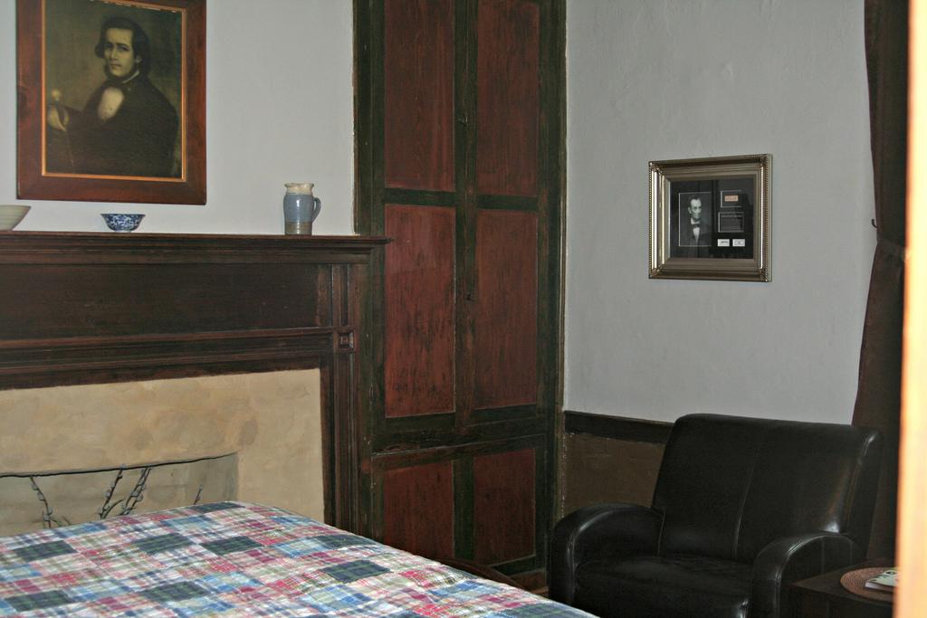 Dabney Carr Bedroom view of Original Built In Cupboard