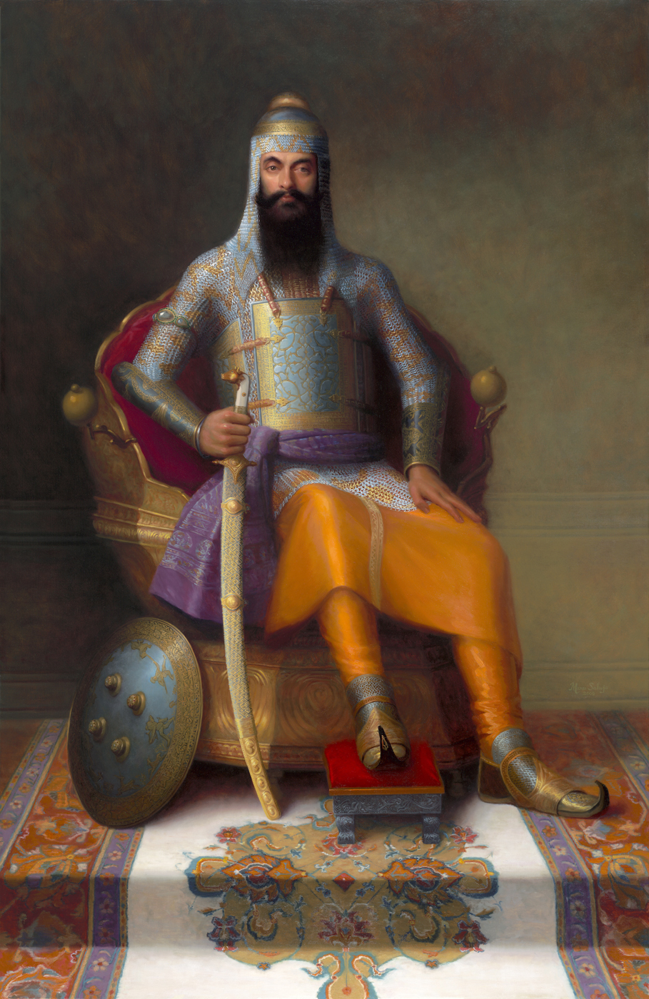 Maharajah Ranjit Singh, The Lion of the Punjab