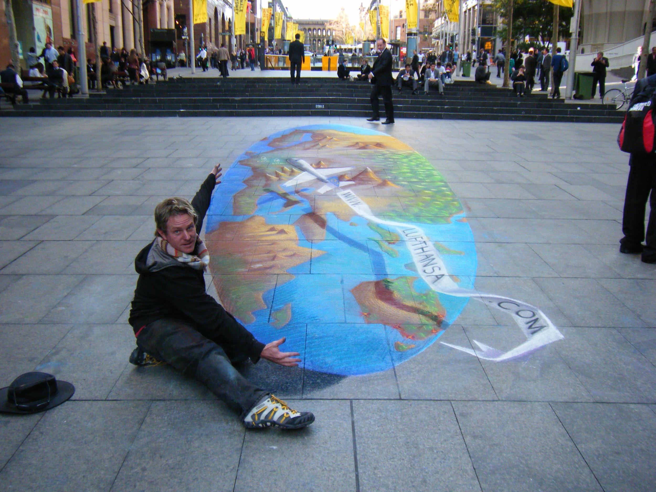 Luftansa globe