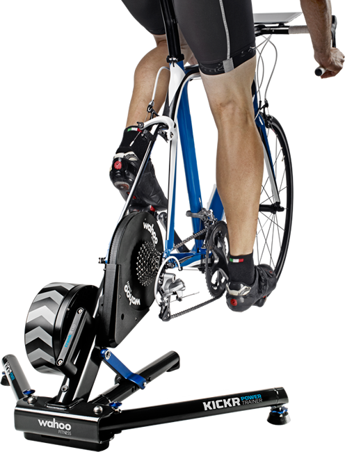 The Wahoo Fitness Kicker, the best all in one bike trainer on the market