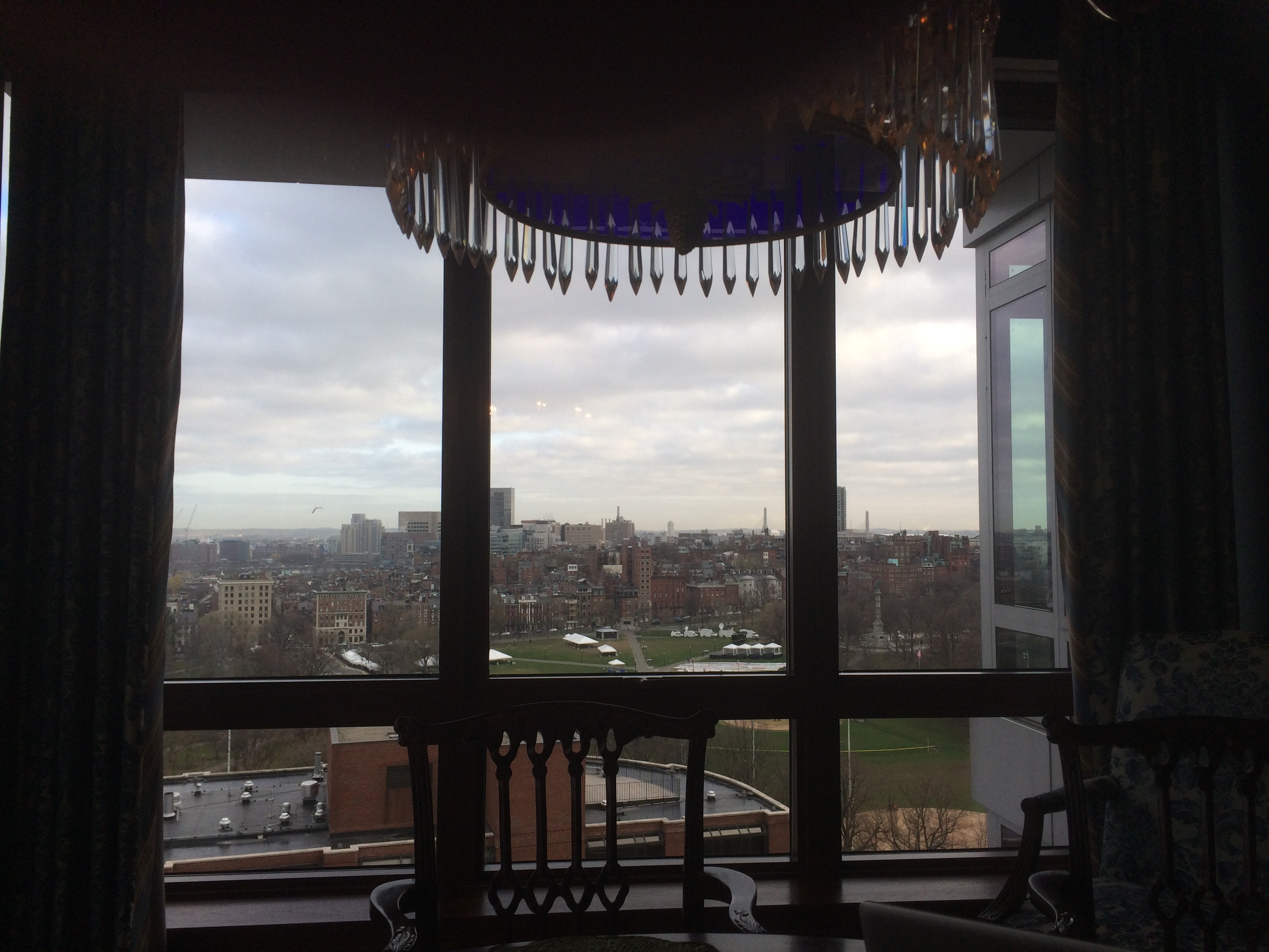 The view from the Penthouse of Stephen and David.