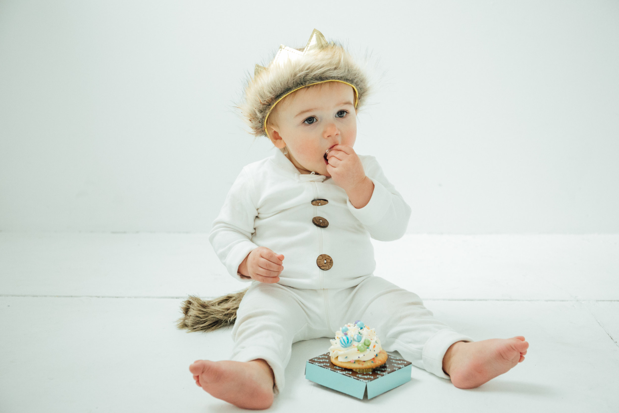 Kennan was Max from Where The Wild Things Are book and he loves his cakes and cupcakes