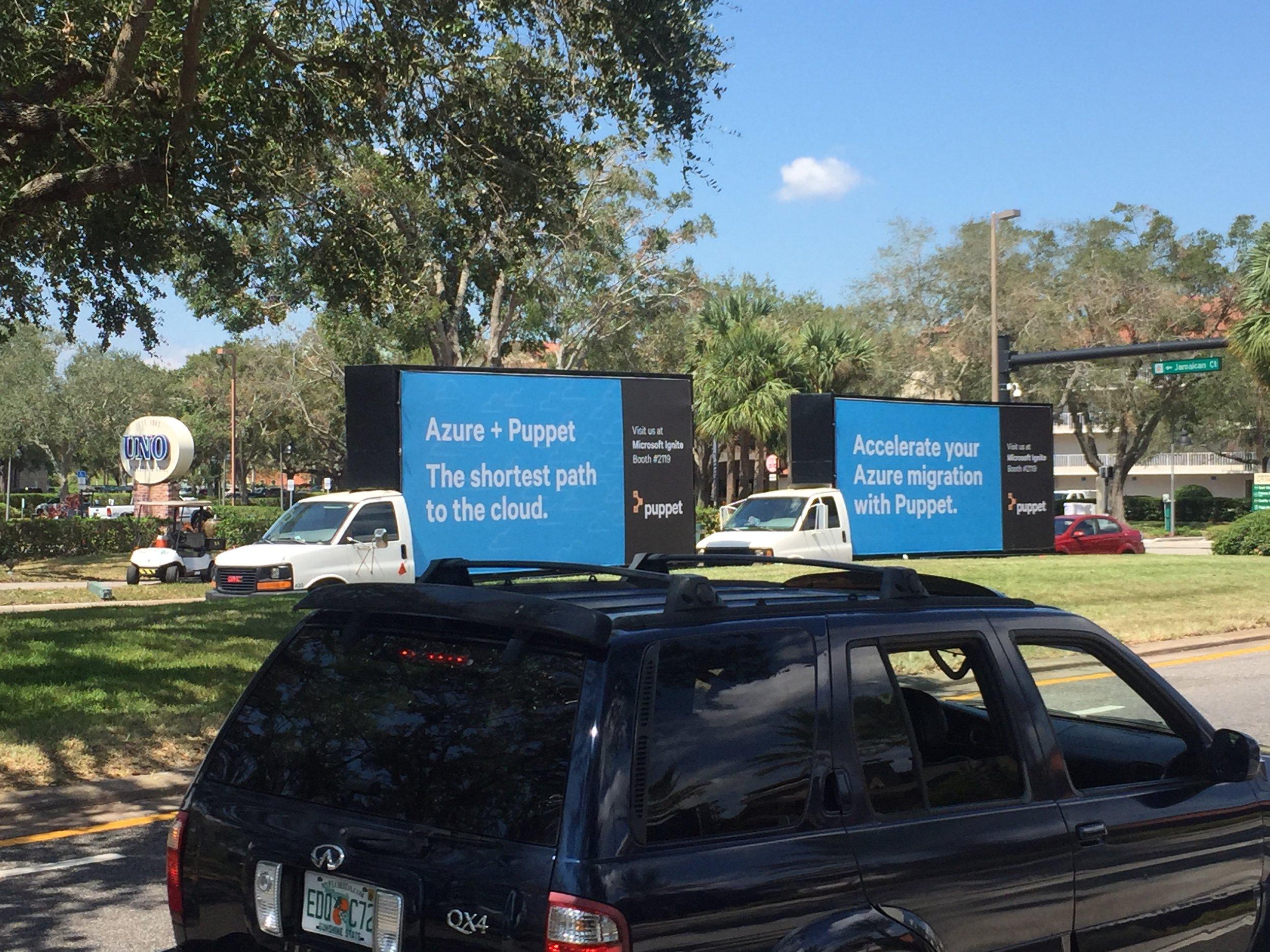 Billboard Truck Miami
