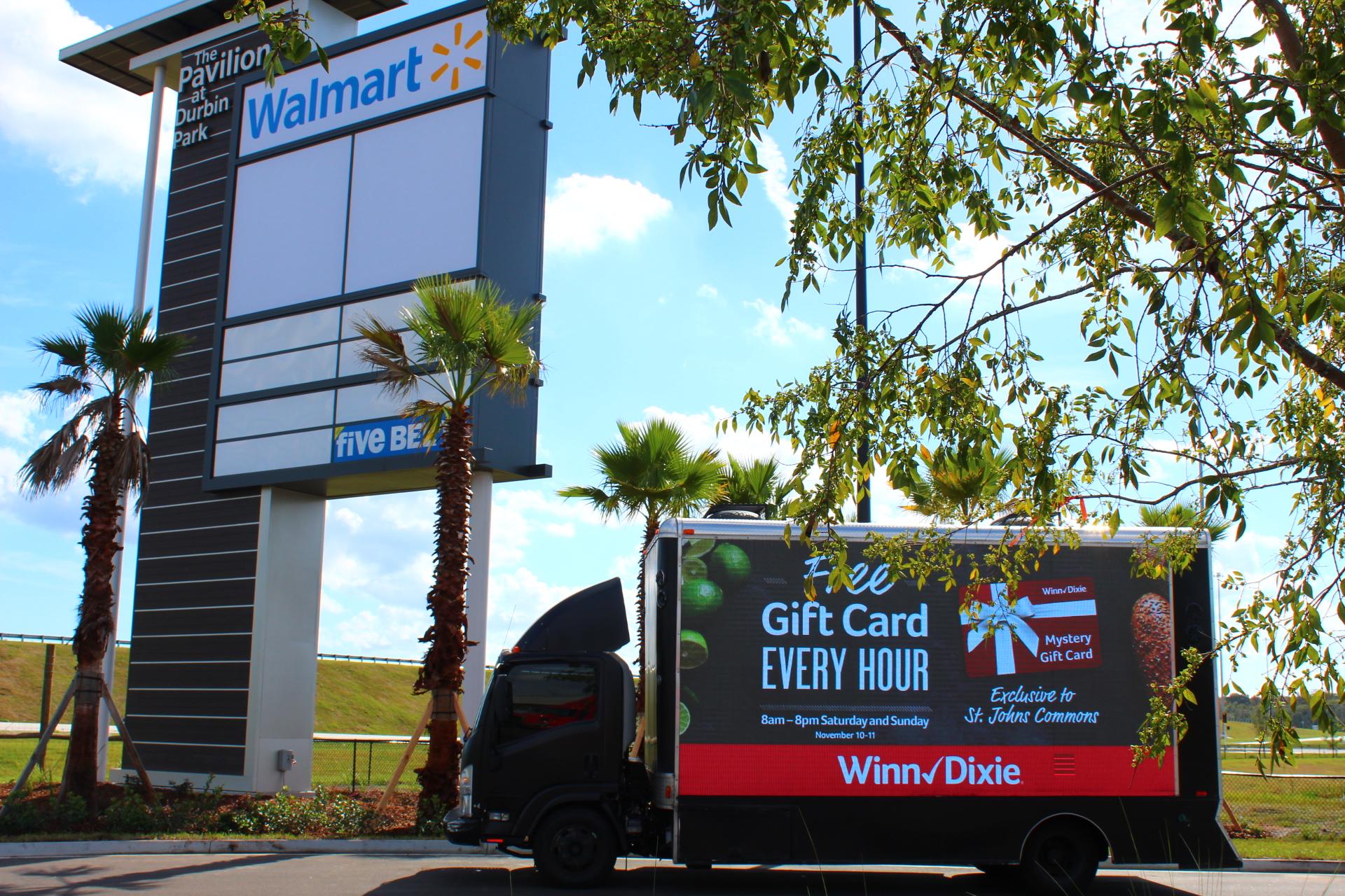 Jacksonville Florida - Activation: Digital LED Billboard truck