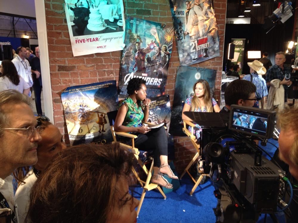 At Cine Gear 2012