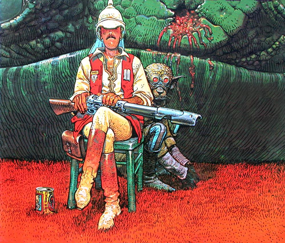 Influential artist Moebius passed away
