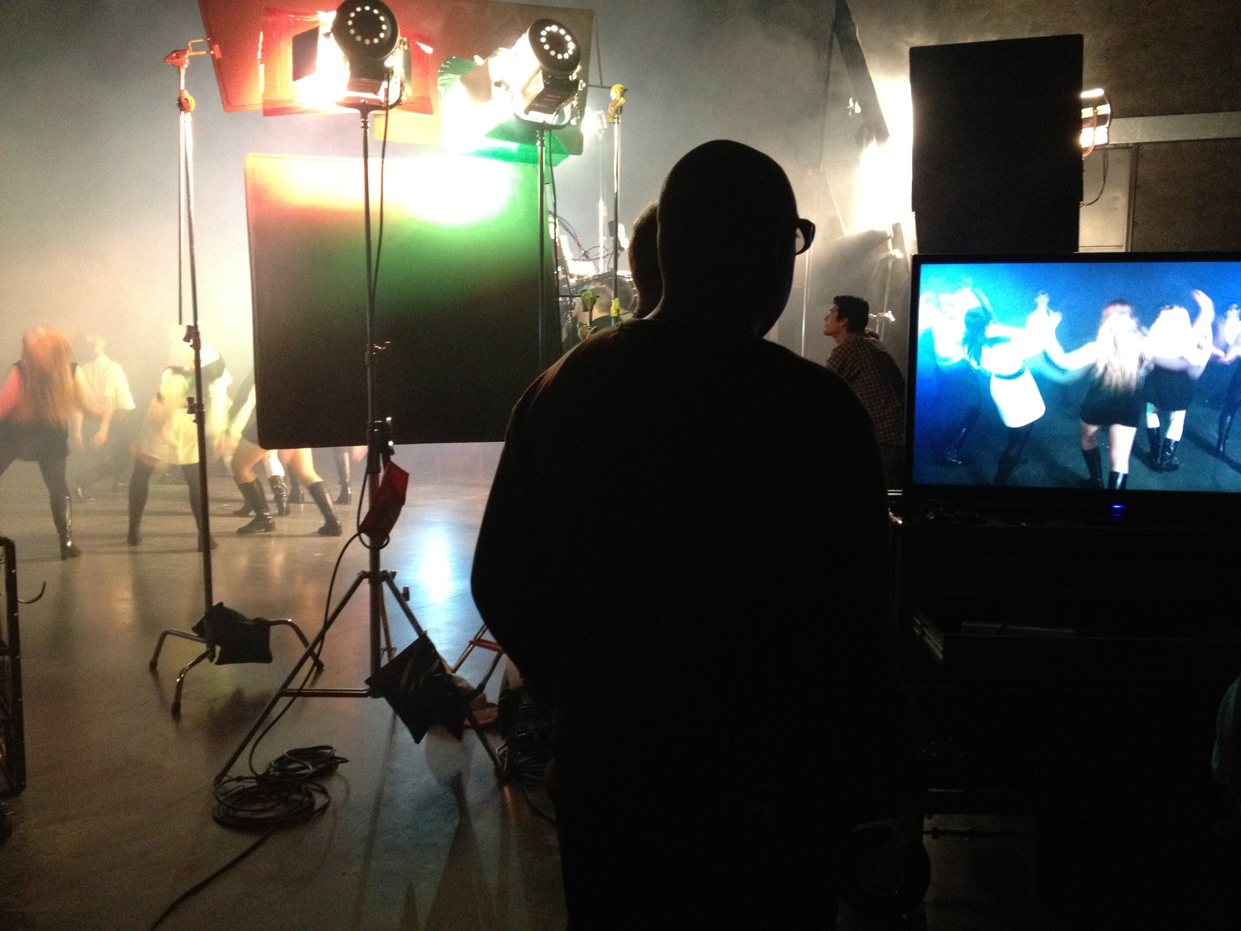 3D Alexa music-video shoot in Vancouver
