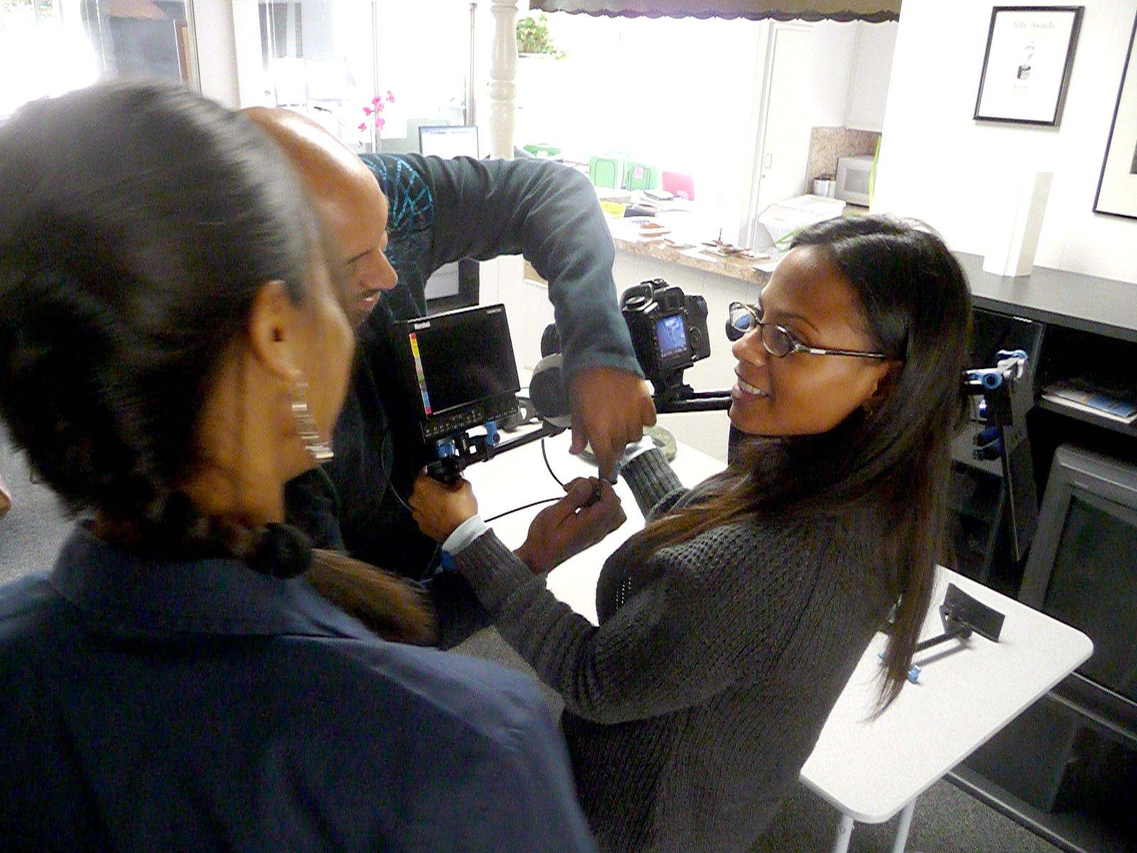 Training Zoe from Avatar on the Canon 5D & 7D