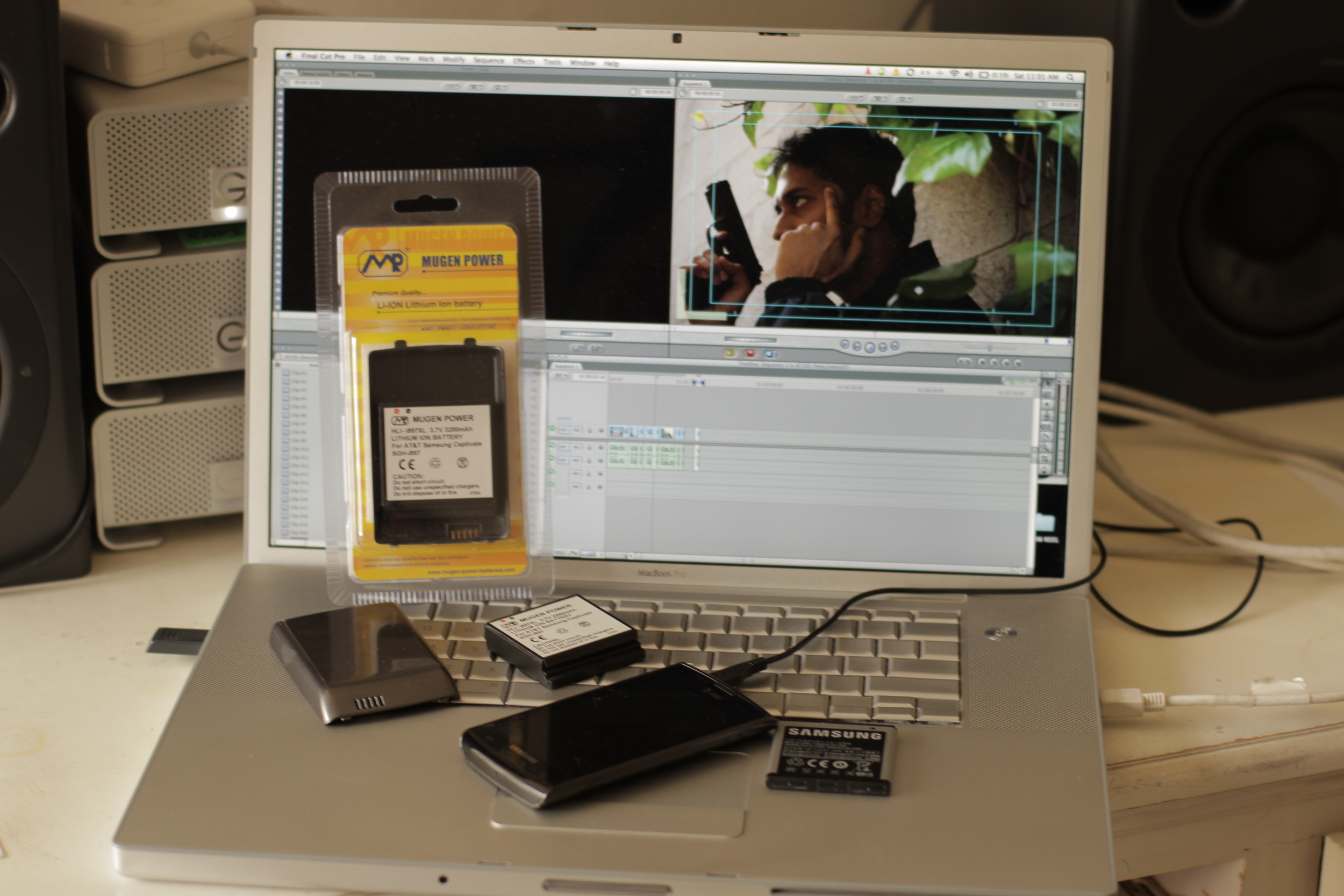 Making a Short Film on an Android Phone with help from Mugen Power